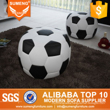 Unique design football shape footstools for sale,round footsool