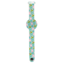 Custom LED Fashion Silicone Animal Shape Digital Child Wrist Watch