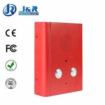 Puerta SIP Teléfono, Intercomunicador de Ascensor, Manos Libres Teléfono Vandalproof