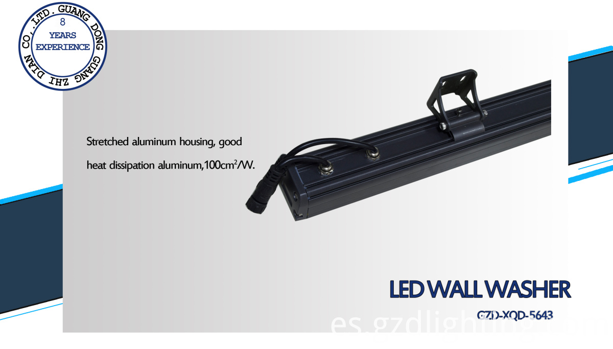 IP 65 led wall washing