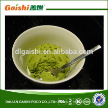 menu de la pâte de wasabi
