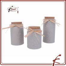 ceramic canister tea coffee sugar set