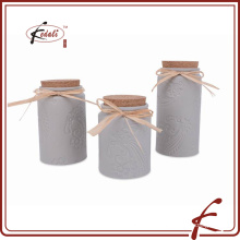 Cerâmica vasilha chá café açúcar definido