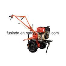 9HP 6.6kw Diesel-Pinne, Power-Pflüger, Bauernhof-Drehpflüger-Dieselmotor-Pflüger