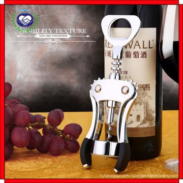 Роскошные серебряные крыло Штопор легко открыть бутылки вина открывалка для вина