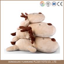 Custom lovely plush christmas deer animal toy