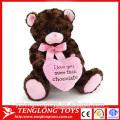 valentine plush toy, plush teddy bear for valentine's day