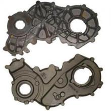 Cubierta del motor del hierro gris para el motor diesel