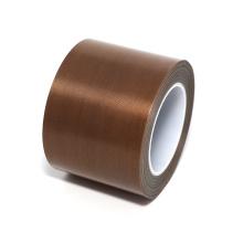 Fita adesiva de fibra de vidro revestida com PTFE de alto isolamento