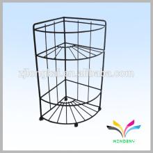 3 pneus intérieur étage métal stand art show fil affichage racks