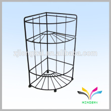 3 pneus indoor floor metal stand art show wire display racks