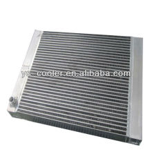 aluminium plate air oil cooler of reciprocating compressor