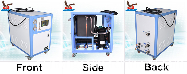 3hp water cooled chiller