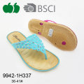 2017 durable hot selling beautiful pcu women slipper