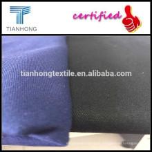 97 algodón 3 tela cruzada del spandex tela 98% algodón 2% spandex tela poliester del spandex de la tela cruzada