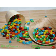Горячие надувные шоколадные семена подсолнечника с цветным покрытием