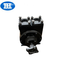 Self-priming fuel oil sliding pump vane / pump oil lube