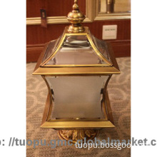 New Arrival Hot Sale European Dignity Senior Brass Fitting Lawn Lamp