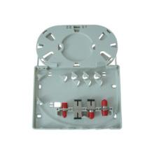 Caja terminal FTTH / FTTX de 4 puertos tipo Fibra de pared colgada