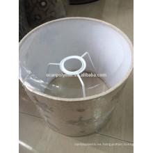 Película PVC blanca brillante para lámpara