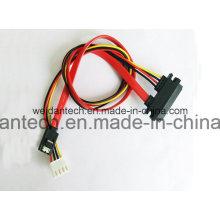 SATA Hard Drive Power Sync Data Cable