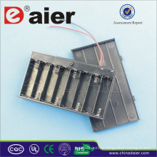 Daier Batteriehalter 12v mit Deckel Batteriehalter 8 aa