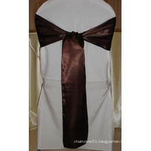 100% Polyester Satin Sash for Chair Covers