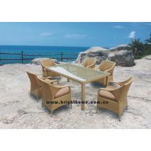 Juego de comedor al aire libre / Muebles de jardín
