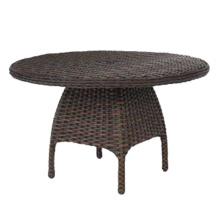 Conjunto de mesa de comedor de muebles al aire libre Hotel Jardín de mimbre de la rota