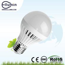 Cubierta de plástico 3w ahorro de energía llevó la luz de bulbo