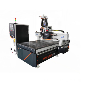 Авто инструмент Changer Wood Cnc Machine