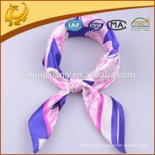 Super Soft Star Design Lenços quadrados de seda, adequados para xale bebê com cachecol cachecol Shawl