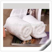 Egyptian Cotton Star Hotel Used White Customized Size Decorative Bath Towels