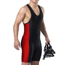High quality men's wrestling singlet fighting jersey