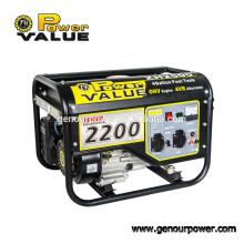 Power-Wert 220v einphasigen elektrischen Generator 50hz / 60Hz