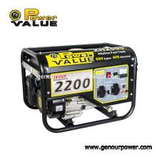 Мощность 220v однофазный электрический генератор 50hz / 60hz