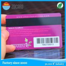 Schwarze magnetische Streifen Kunststoff PVC Inkjet Karten