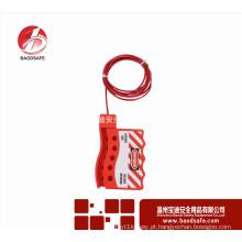 Wenzhou BAODI Safety universal bloqueio de cabo ajustável BDS-L8641
