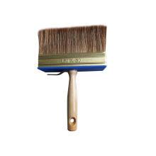 Cepillo de techo para la pintura