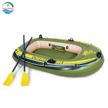 PVC 2 pessoas pescando barco a remo inflável