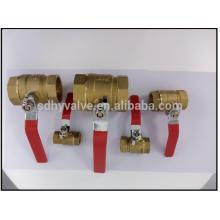 Brass zinc alloy ball valve