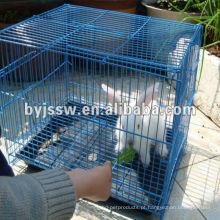 Gaiola de coelho solteiro da fabricação