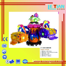Indoor Playground Candy Powered Equipment Game for Children