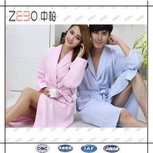 Fábrica de OEM directamente de venta Tamaño libre túnica de baño de algodón para hombres y mujeres