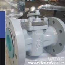 Flanged Ends Wcb Sleeve Type Plug Valve