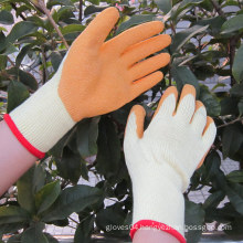 Latex Coated Gloves Safety Hand Protection Work Glove