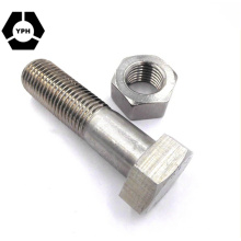 DIN933 &DIN934 Hex Bolt and Nut, Bolts and Nuts Screws OEM (ISO9001-2010) , Bolt