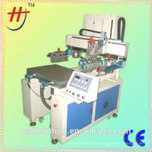 High precise run table flat bed screen printing machine for sale