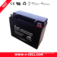 Chargeable AGM Battery 6-Mfq-6.5A Mainteance Free From V-Cell