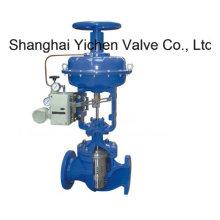 Válvula de controle de luva de diafragma pneumática tipo globo (ZJHM)